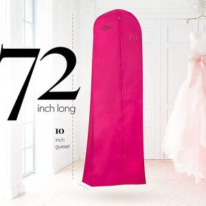 Deluxe Wedding Dress and Long Gown Garment Bag